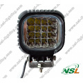 Luz de trabajo LED cuadrada de 48W (NSL-4816B-48W)