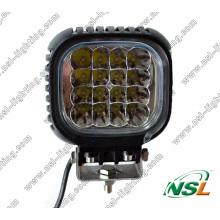 Lampes de travail à LED 48W pour usage intensif, feu antibrouillard tout-terrain à LED super lumineux