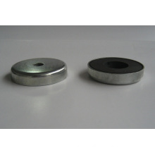 Ceramic Ferrite Shallow Pot Magnet