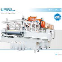 Máquina de la extrusión de la película del pe de la capa 3 / máquina de la película del pe de 2000m m que hace la opción del surtidor