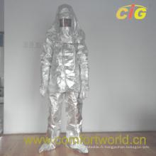 Tissu résistant aux incendies en aluminium (SGFJ03825)