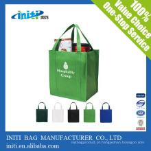 Utilitário grandes sacos não tecidos dobráveis personalizados