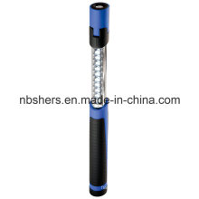 Dual-Function Extendable Telescopic 11 LED Work Light Torch Base magnétique