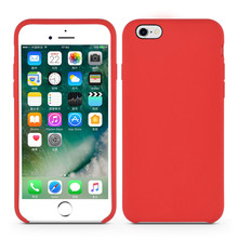 Exquisite Liquid Silicone Rubber Case for iPhone6s Plus