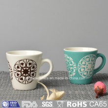 Color Glazed Ceramic Coffee Mug