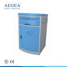 AG-BC005 CE ISO abs Kunststoff einstellbar verwendet Krankenhausbett Seitenschränke