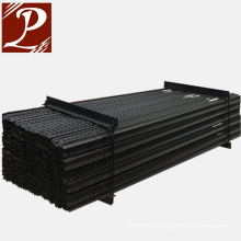Black bitumen steel Y fence stake