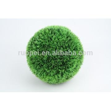 2015 bola de grama de suspensão artificial redonda decorativa de China com corrente