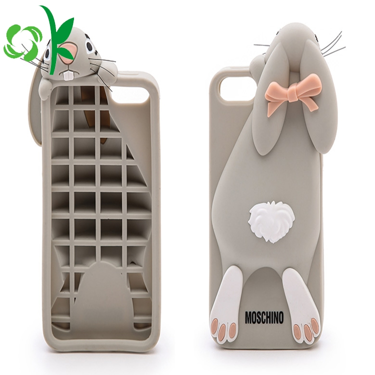 Rabbit Shape Silicone Phone Case 5