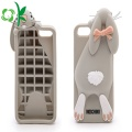 Fashion Pil Fles vorm Cartoon Silicone mobiele dekking