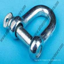 JIS tipo comercial estándar rosca de tornillo de la cadena grilletes Marine Hardware