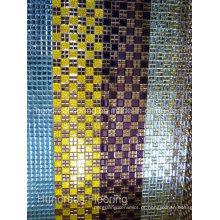 Telha de mosaico de espelho de diamante de vidro (HD063)