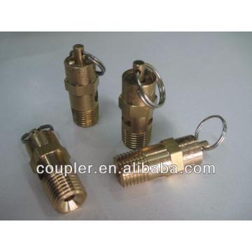 Válvula de segurança do compressor de ar / válvula de segurança de caldeira de latão