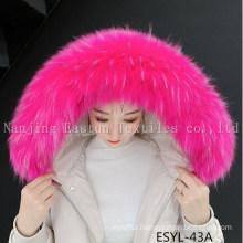 Fur Stripe and Fur Collars Esyl-43A