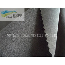40D Nylon / Spandex Matte Microfaser gebürstet Stoff Schuß gestrickte Stoff
