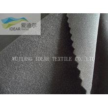 Nylon 40D / lycra microfibra fosca escovado tela feita malha de trama