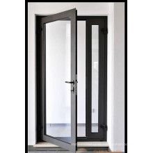 Top Quality Aluminum Frame Double Toughened Glass Casement Door