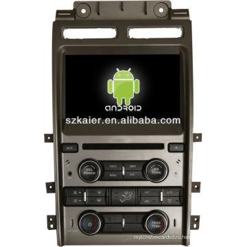 Система DVD-плеер автомобиля андроида для Форд Таурус с GPS,Блютуз,3G и iPod,игры,двойной зоны,управления рулевого колеса