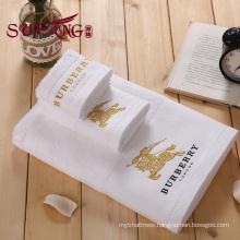 Hotel towel 100% cotton towel 16s customized