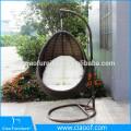 Balanço de vime ao ar livre venda quente pendurado cadeira de jardim