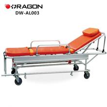 Hi-Low product!!Evacuation folding ambulance stretcher;icu stretcher;DW-AL003