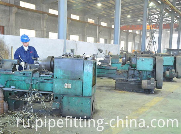Steel pipe caps workshop