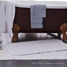 Tapis de bain d'hôtel en coton égyptien de haute qualité