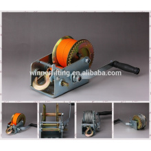 high quality factory portable manual hand winch
