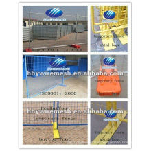 Road barrier / temporary barrier fence