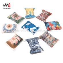 nuevo diseño hermosa caja de pañuelos de regalo de lino