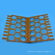 Оранжевый бакелитовые лист пластика обработанные компоненты