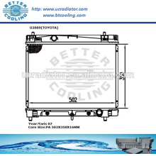 Kühler für Toyota Yaris 07 OEM: 1640021270