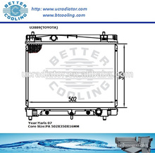 Radiator For Toyota Yaris 07 OEM:1640021270