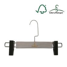 Cusomized cabide pants com clipes para loja de exibição (GLWH209)
