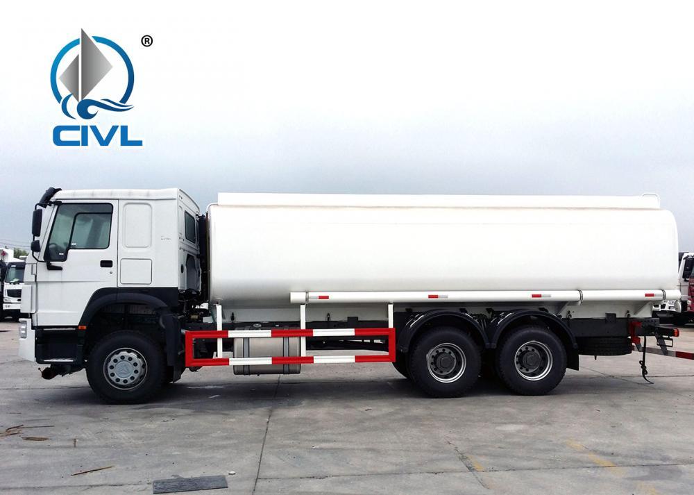 Howo 6x4 Fuel Tanker Truck 17