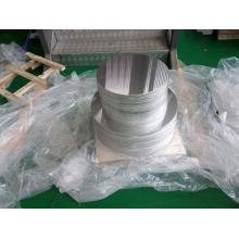 Etiquettes de panneaux d'aluminium en forme de cadran d'aluminium pré-percées et rayées