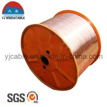 SGS-Zulassung CCS-Draht 1,02mm koaxiales TV-Kabel Rohmaterial