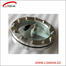 Pn6 Sanitary Stainless Steel Flange Sight Glass with wiper