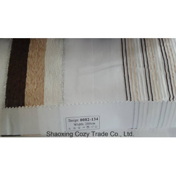 New Popular Project Stripe Organza Voile Sheer Curtain Fabric 0082134