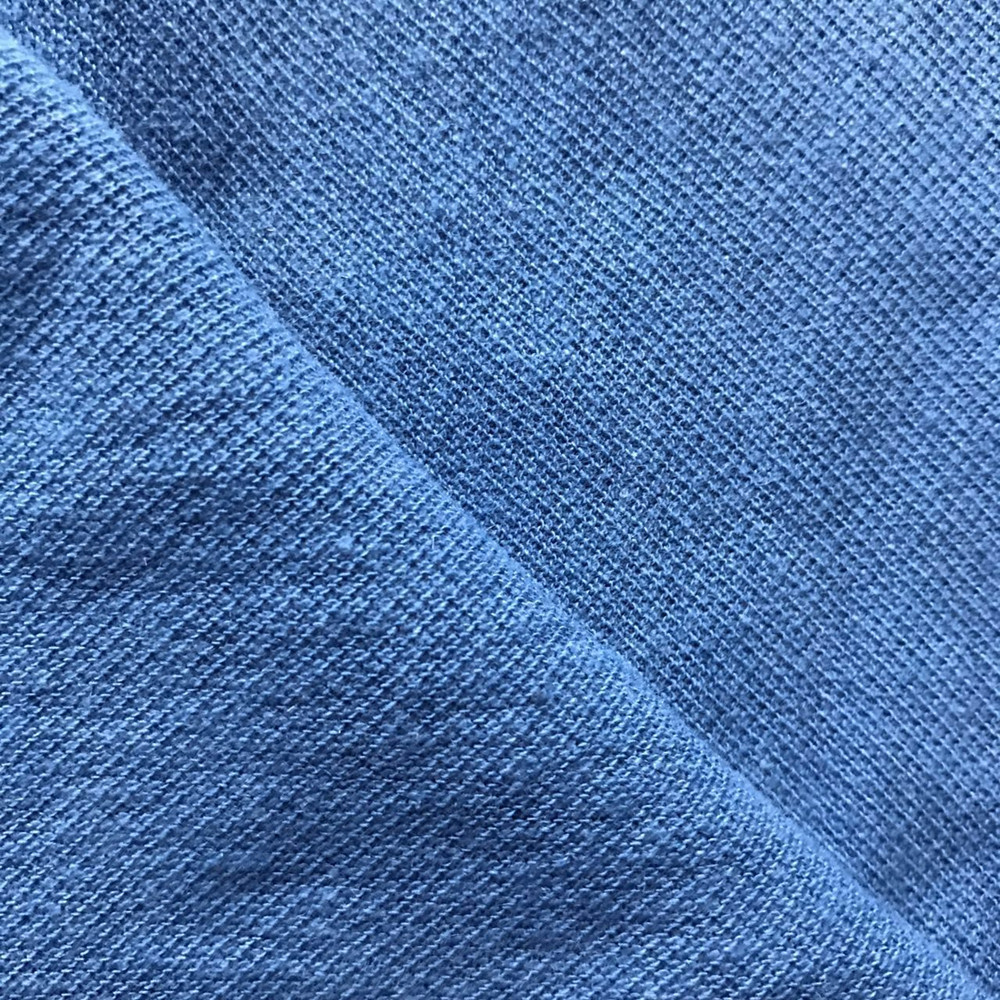 linen cotton pique knitted fabric