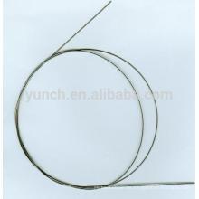 Alambre de memoria de forma de nitinol de 2 mm de alta calidad para la venta