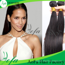 7A Grade Straight Keratin Virgin Full Cuticle Human Hair Extension