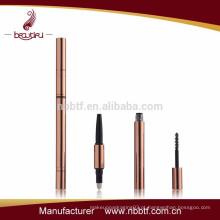 AS11-1 3 in1 3D vazio melhor vendedor caneta cosmética multifunções com escova de rímel Qualidade Escolha