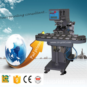 2-Colour Conveyor belt Pad Printing Machine with Auto water process system