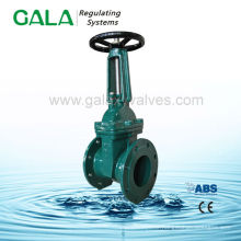 PN16 Outside screw and Yoke soft seat gate valve