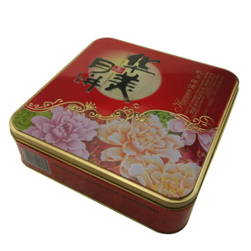 Wholesale Metal Biscuit Packaging Box with Factory Directly