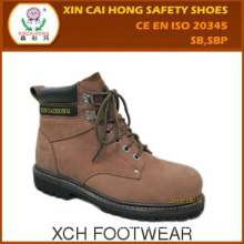 Rubber outsole Protective Footwear goodyear welted safety shoes