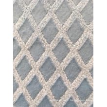 Мягкая флисовая ткань синего цвета с цветочным принтом