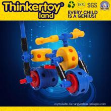 2015 Игрушки для дома Самодельные интеллектуальные игрушки Автомобильные блоки Игрушки