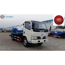 2019 Nouveaux camions de transport de déchets liquides Dongfeng 3000 litres bon marché